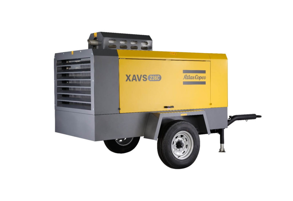 Mobile Air Compressor >> Atlas Copco C Range Mobile Air Compressor Passion Industry Limited